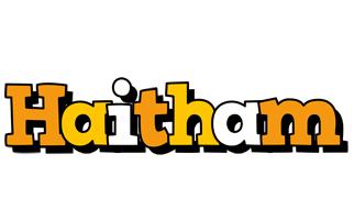 Haitham cartoon logo