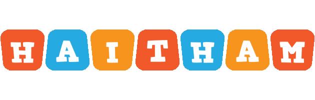 Haitham comics logo