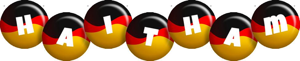 Haitham german logo