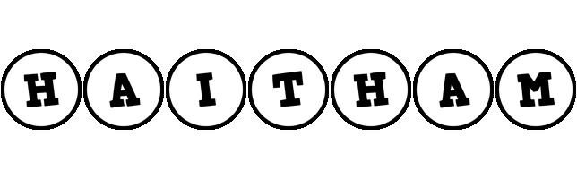 Haitham handy logo