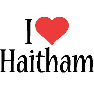 Haitham i-love logo