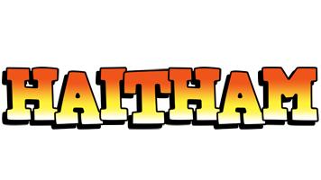 Haitham sunset logo