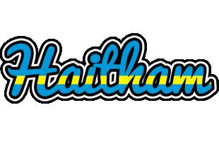 Haitham sweden logo