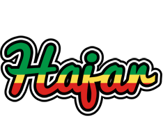 Hajar african logo