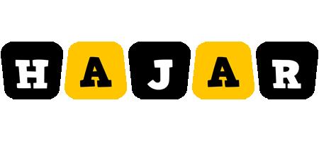 Hajar boots logo