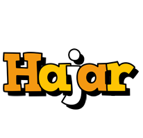 Hajar cartoon logo