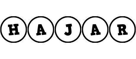 Hajar handy logo
