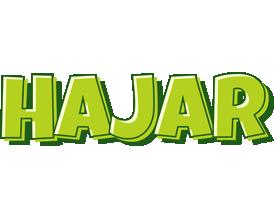 Hajar summer logo