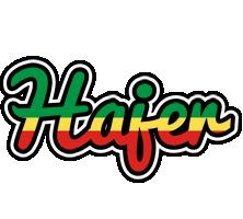 Hajer african logo