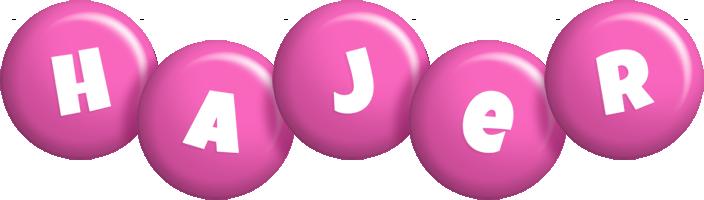 Hajer candy-pink logo