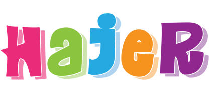 Hajer friday logo