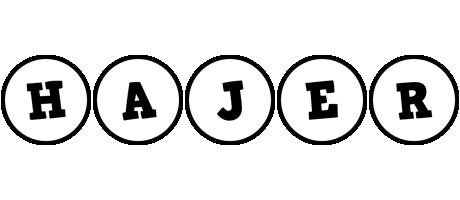 Hajer handy logo