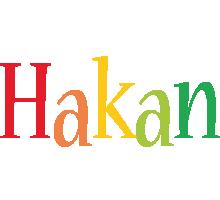 Hakan birthday logo
