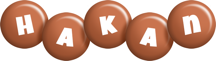 Hakan candy-brown logo