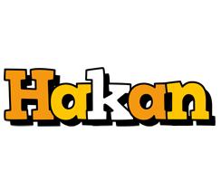Hakan cartoon logo