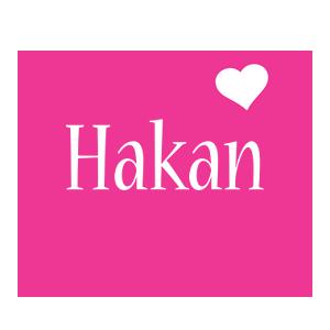 Hakan love-heart logo