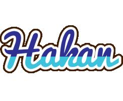 Hakan raining logo