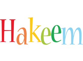Hakeem birthday logo