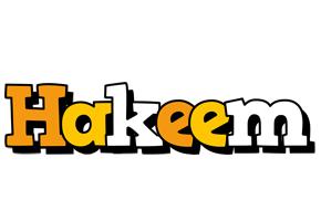 Hakeem cartoon logo