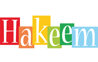 Hakeem colors logo