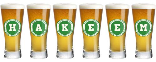 Hakeem lager logo