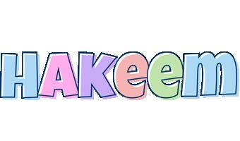 Hakeem pastel logo