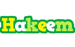 Hakeem soccer logo