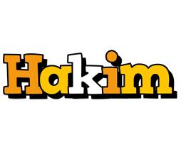 Hakim cartoon logo