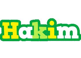 Hakim soccer logo