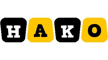 Hako boots logo