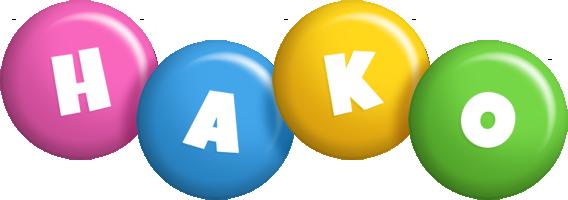 Hako candy logo