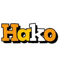 Hako cartoon logo