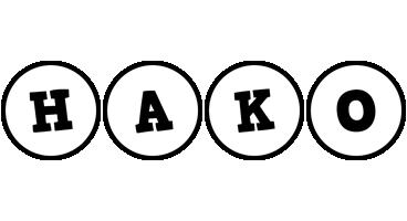 Hako handy logo