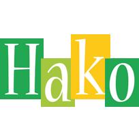Hako lemonade logo