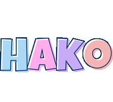 Hako pastel logo