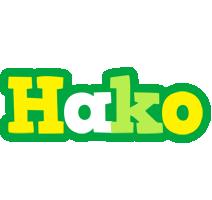 Hako soccer logo