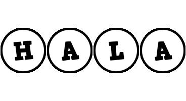 Hala handy logo
