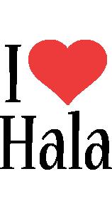 Hala i-love logo