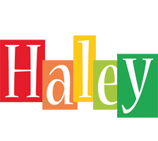haley logo name logo generator smoothie summer