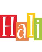 Hali colors logo
