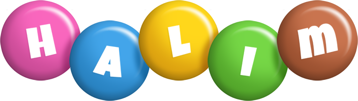 Halim candy logo