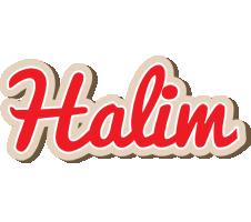 Halim chocolate logo