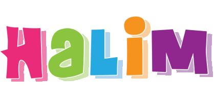Halim friday logo