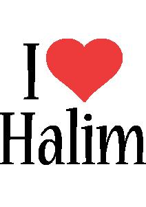 Halim i-love logo