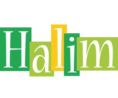 Halim lemonade logo