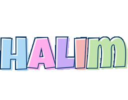 Halim pastel logo