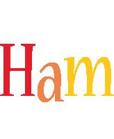 Ham birthday logo