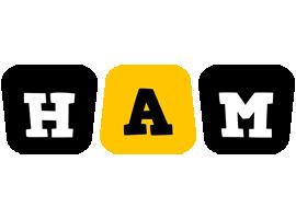 Ham boots logo