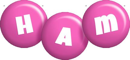 Ham candy-pink logo