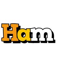 Ham cartoon logo